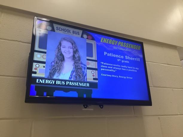 energy bus student